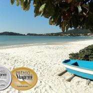 Bombinhas entre as três melhores praias do Brasil